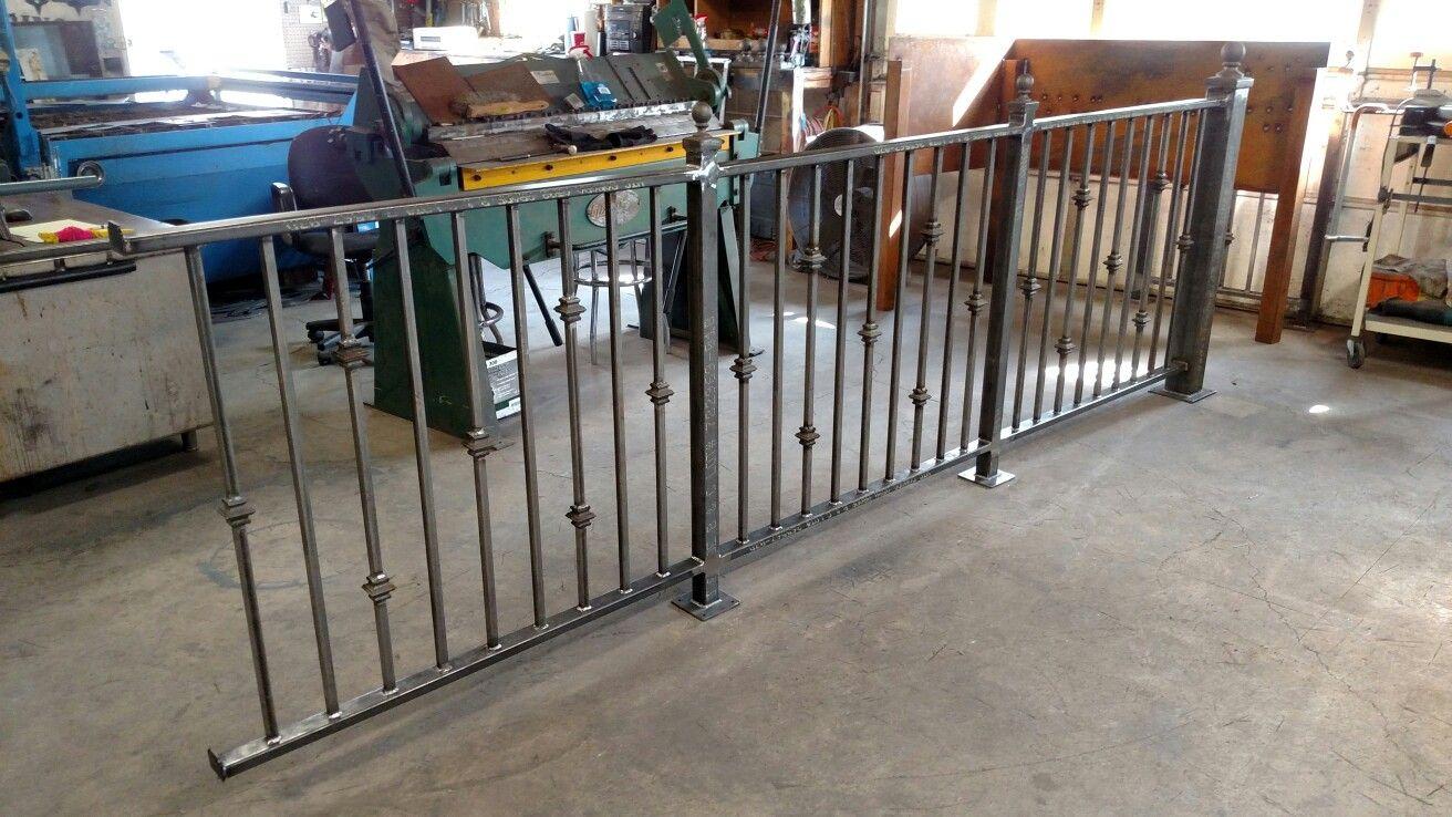 Custom Made Wrought Iron Railings By Villagecraftiron Com | Wrought Iron Handrails Near Me