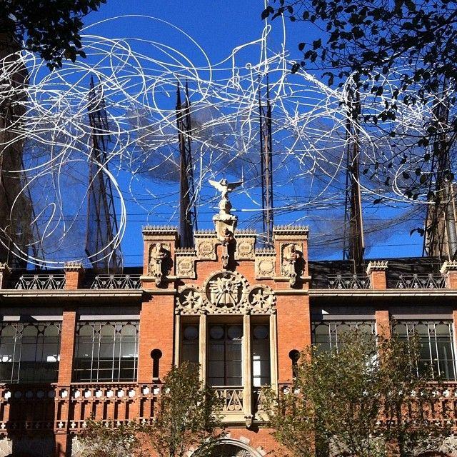 Fundació Tàpies, esta dedicado a la vida y obra del pintor catalán Antoni Tápies. La  fundación fue creada por el propio artista en 1984,Barcelona (Spain)