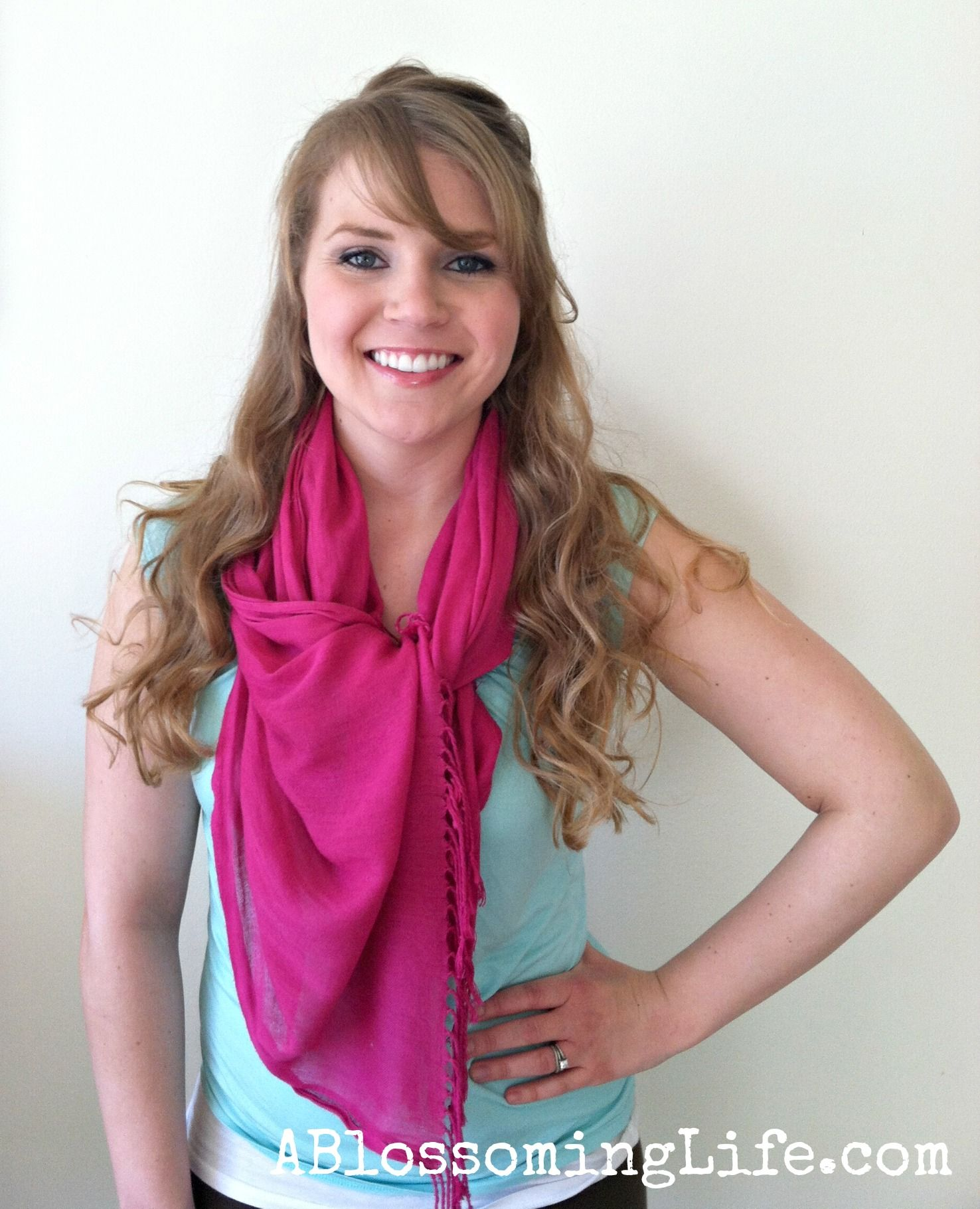 How To Tie A Scarf: 9 Easy Ways | Scarf tutorials ...