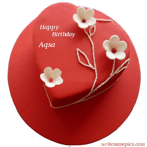 Admirable Pin By Fahad Mujeeb On Fahad With Images Cake Name Heart Personalised Birthday Cards Paralily Jamesorg