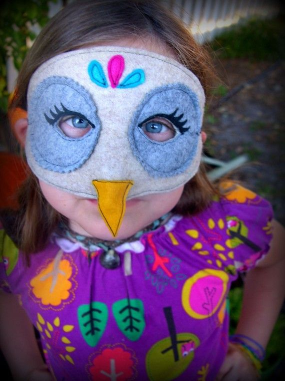 Owl mask!