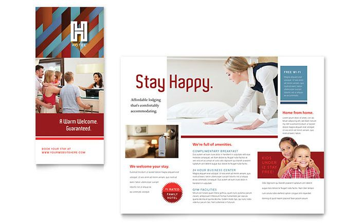 hotel brochure template design by stocklayouts layout hotel rh pinterest es