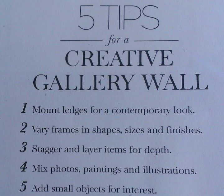Pottery Barn's 5 tips for a creative gallery wall