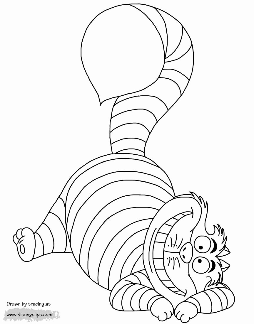 28 Cheshire Cat Coloring Page In 2020 Cat Coloring Page Cat