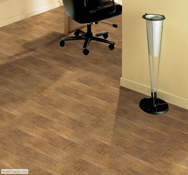 ceramic tile with the appearance of hardwood