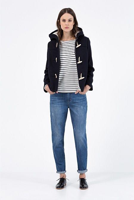 Faux Shearling Duffle Coat | What to wear | Pinterest | Duffle ...