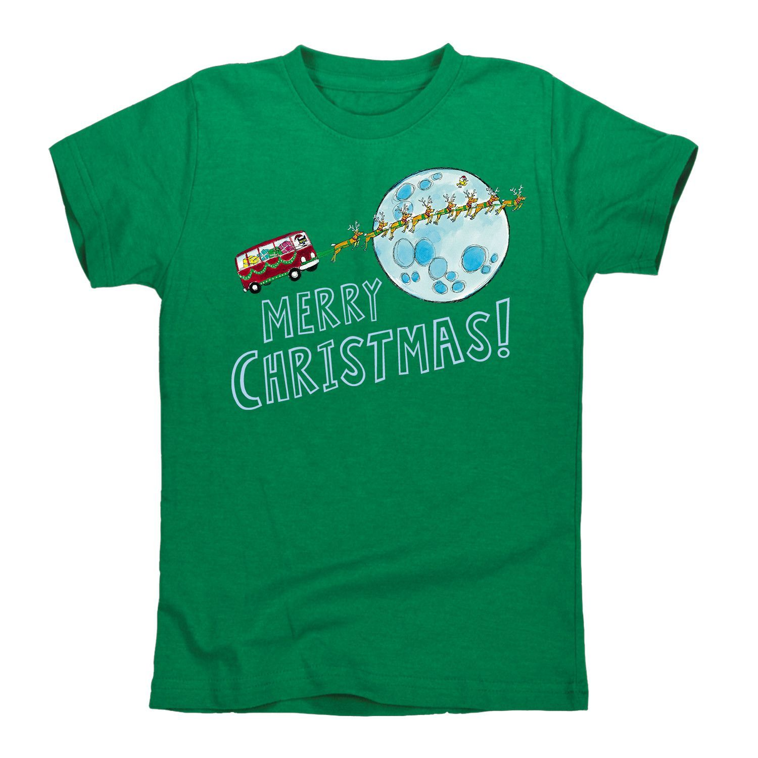 Pete The Cat Merry Christmas Moon Toddler Tee
