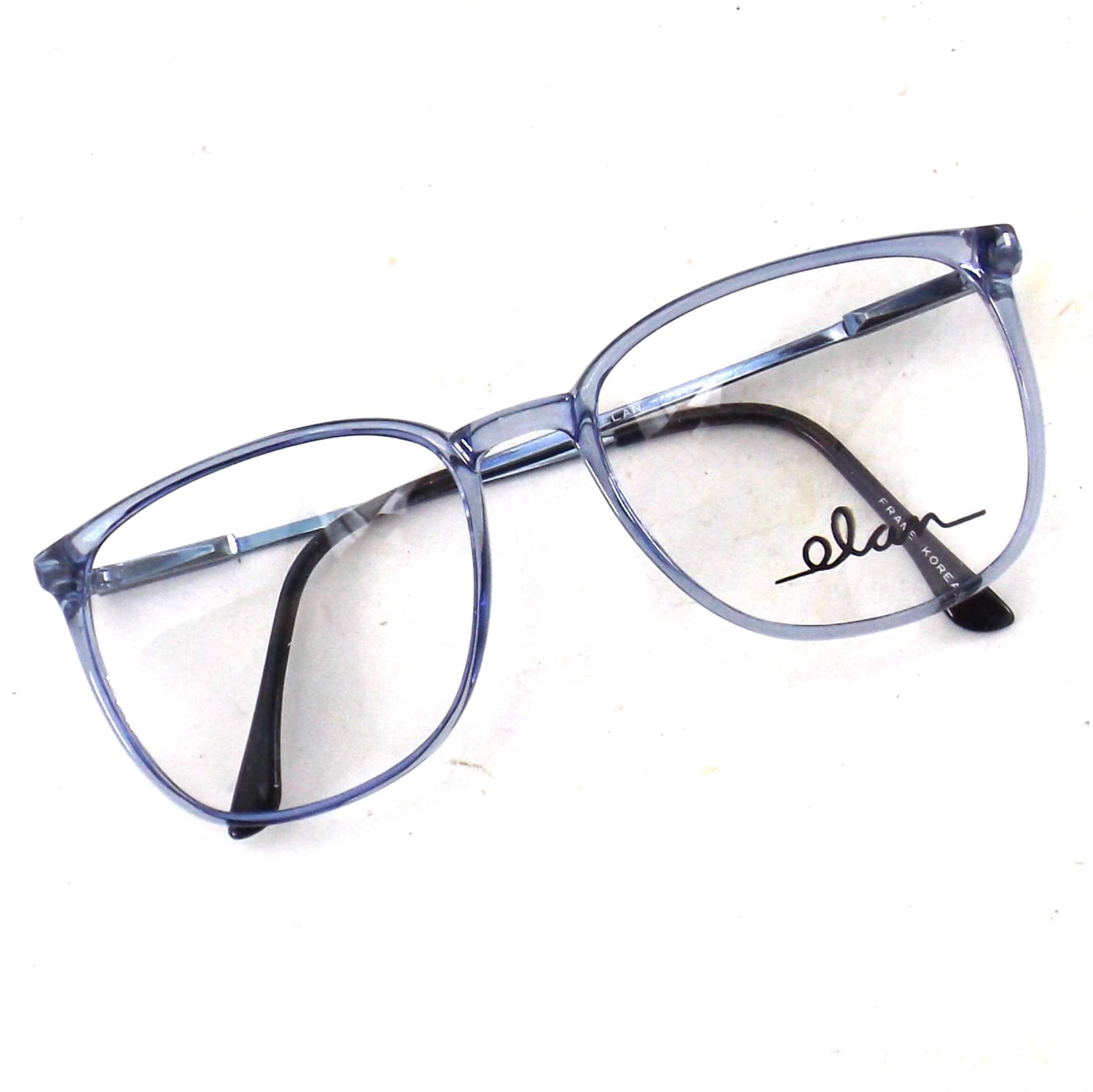 Vintage Oversize Eyeglasses 80s Blue Eye Glasses Round Etsy In 2020 Glasses Frames Trendy Womens Glasses Frames Trendy Glasses