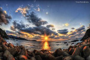 First Day Sunset by *WindyLife on deviantART