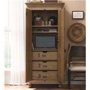 down home utility cabinet with 3 tray drawers by paula deen by rh pinterest at