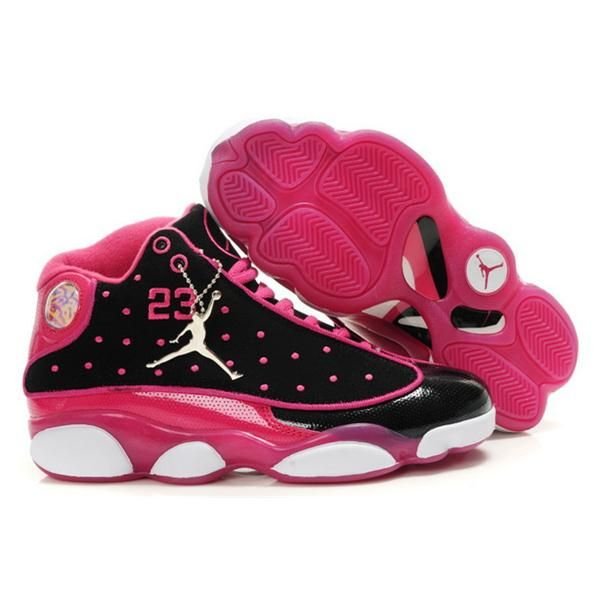official photos f5744 5aea1 women jordan shoes   Women Nike Air Jordan 13 Retro Shoes 01 Black Purple  Shop Price   81 .
