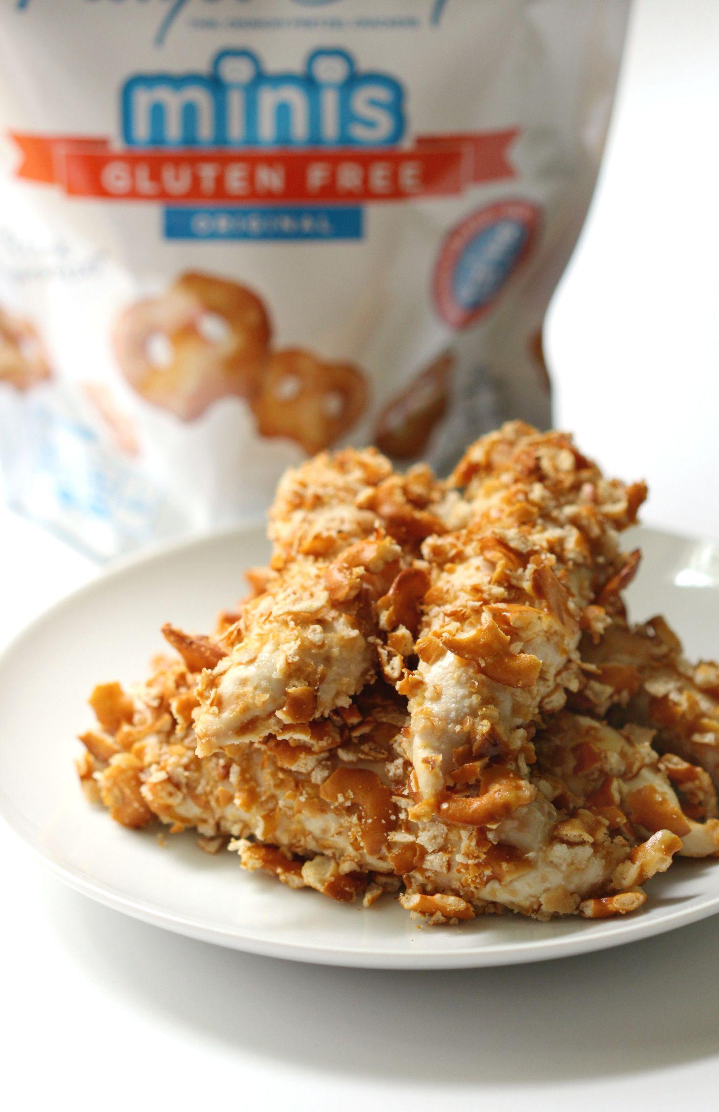 Honey mustard pretzel crusted chicken recipe honey