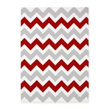 Red Light Blue And Navy Chevron Rug Google Search