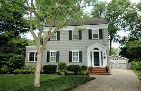 Side Hall Colonial Colonial Exterior House Exterior House Styles