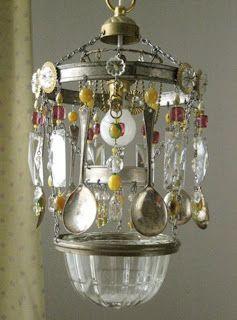 home made chandelier chimes pinterest bohemian kitchen diy rh pinterest co uk