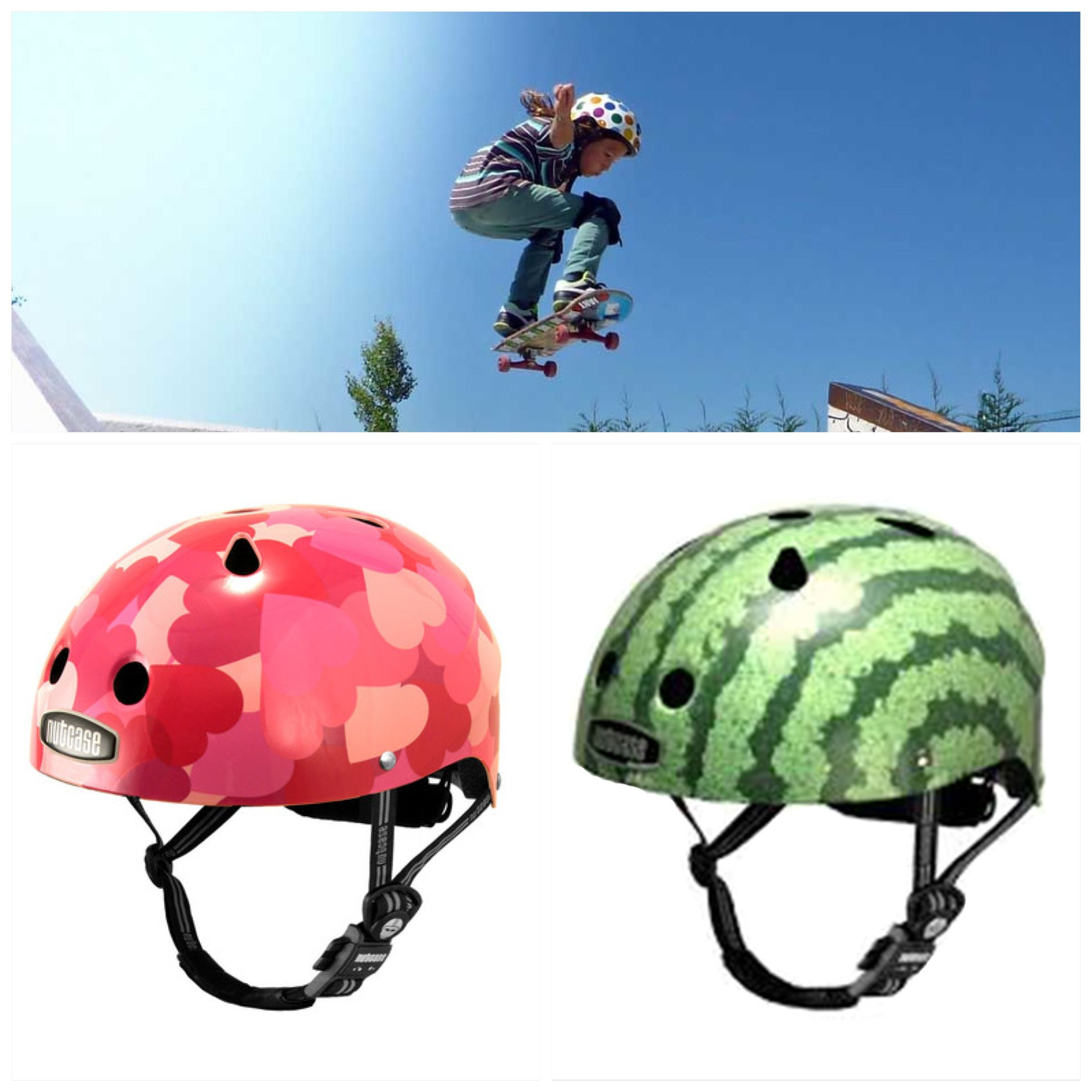 Mocka s Little Nutty Helmets are the best way to protect your child s head Available in