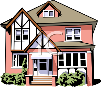 Royalty Free House Clip Art Buildings Clipart House Home Improvement Projects Building