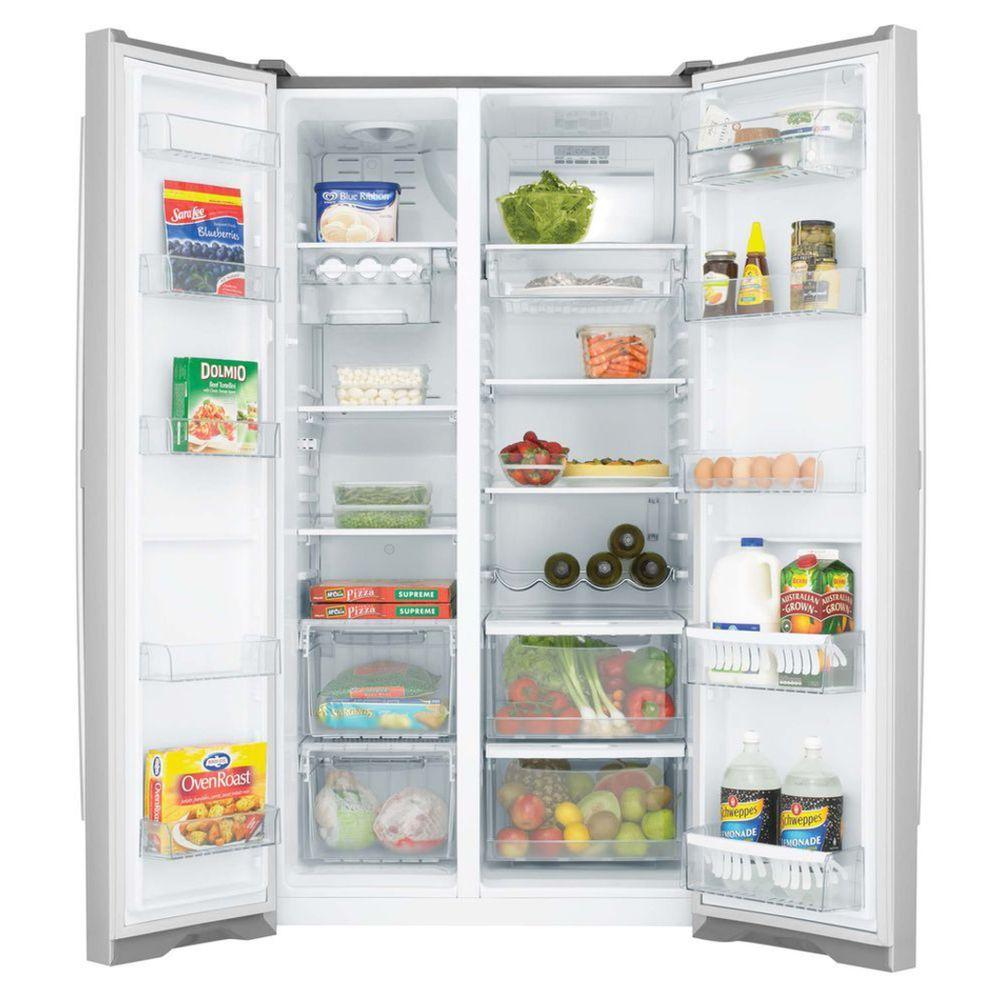 westinghouse side by side fridge 610l wse6100sf house kitchen rh pinterest com au