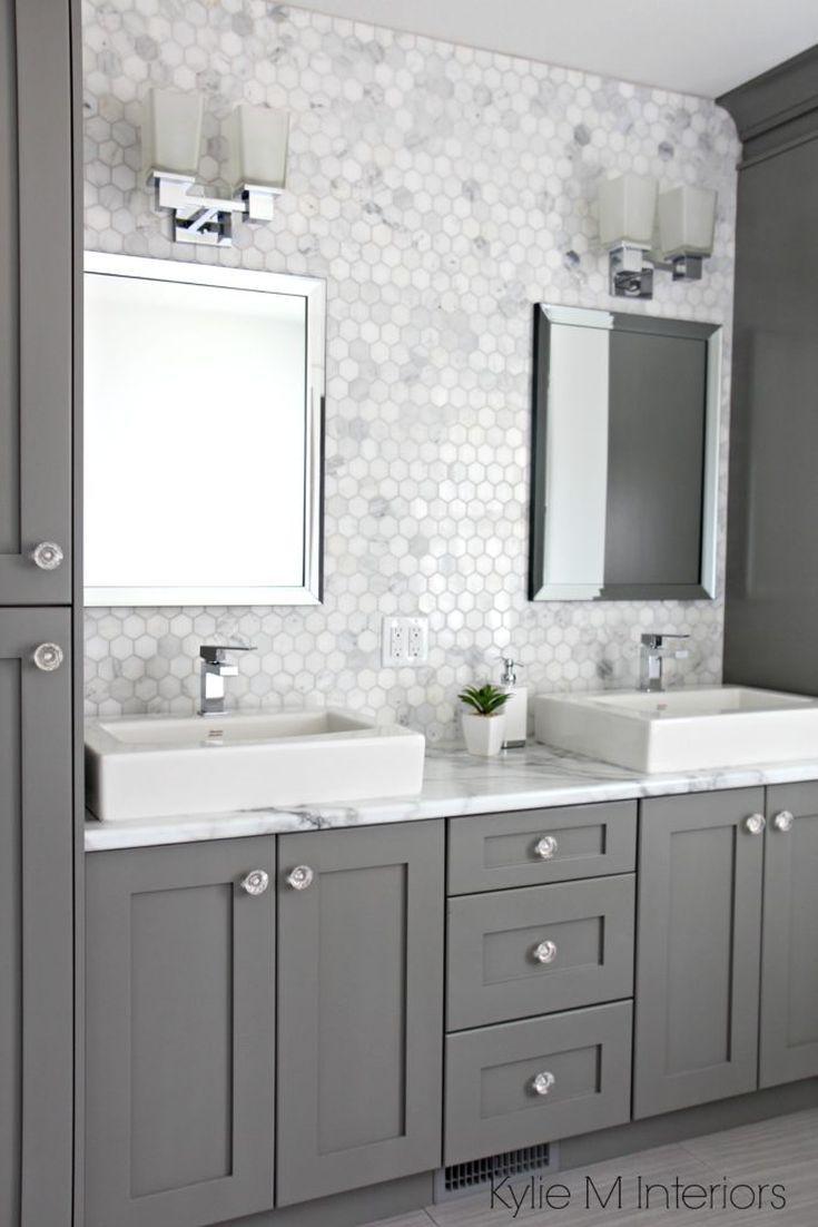 26 ideas for beautiful gray bathrooms help me decorate my home rh pinterest de
