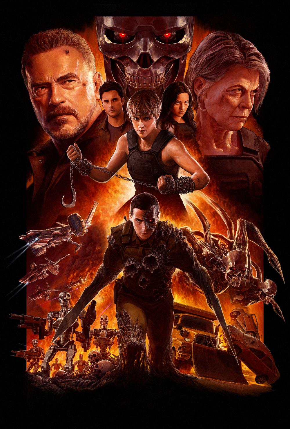 Terminator: Dark Fate by DaveRapoza on DeviantArt   Terminator, New  terminator movie, Terminator movies