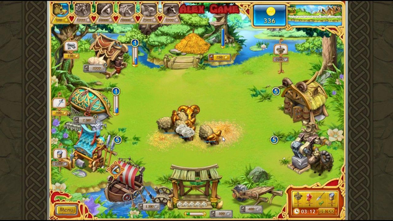 Farm Frenzy Viking Heroes Standart Level 42 GOLD Веселая