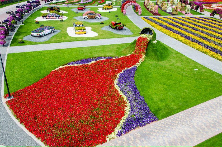 Dubai Miracle Garden Most Beautiful Garden In The World Always