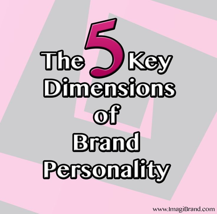Free Ebook The 5 Key Dimensions Of Brand Personality Is Now Available In A Pdf Version Social Media Branding Social Brands Brand Strategy
