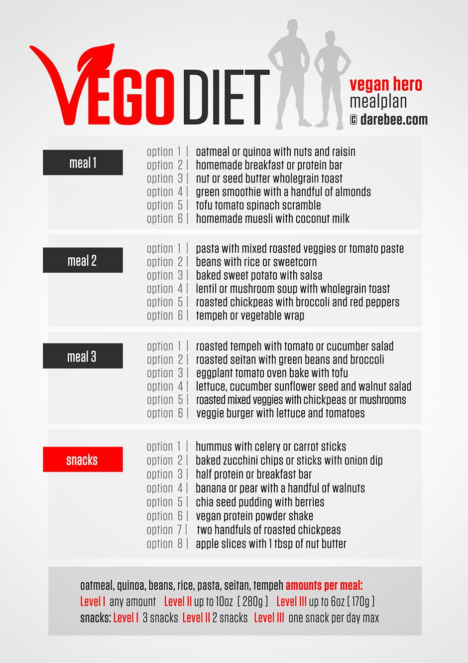 vegeterian workiout diet plan