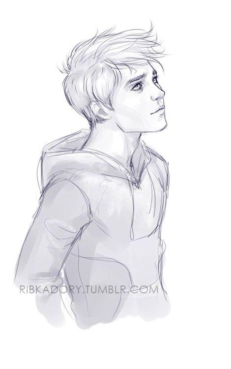 Drawings Of Cute Boys : drawings, RibkaDory, Drawing, Sketches,, Drawings,