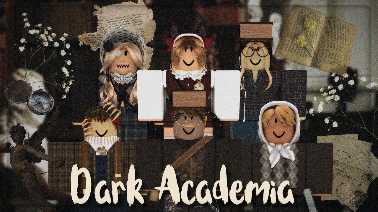 20 Dark Academia Roblox Outfits In 2021 Roblox Dark Outfits Dark