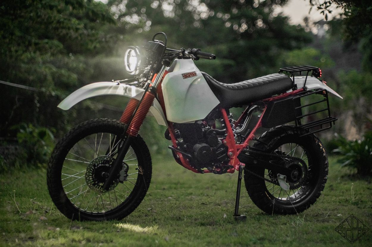 "XARGHHH: Honda XR200 ""UTE"" by Revolt Cycles"