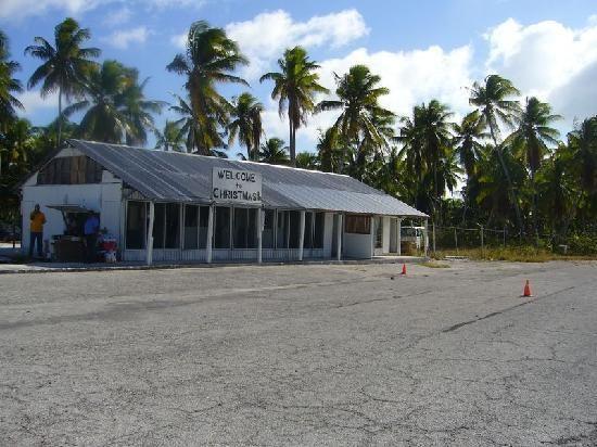 Kiritimati ( Christmas Island), Republic of Kiribati - International Airport Terminal (With ...