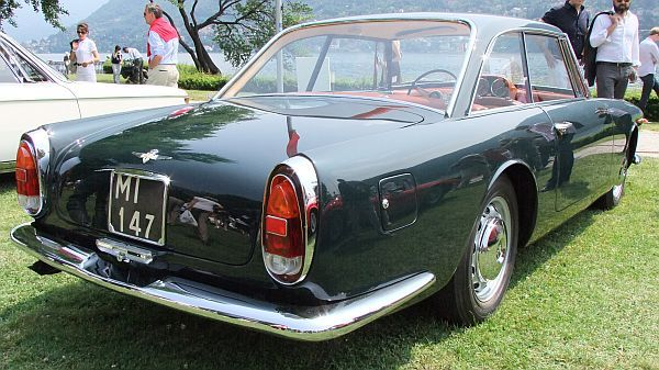 1960 Alfa Romeo 2000 Coupe Praho Superleggera by Touring