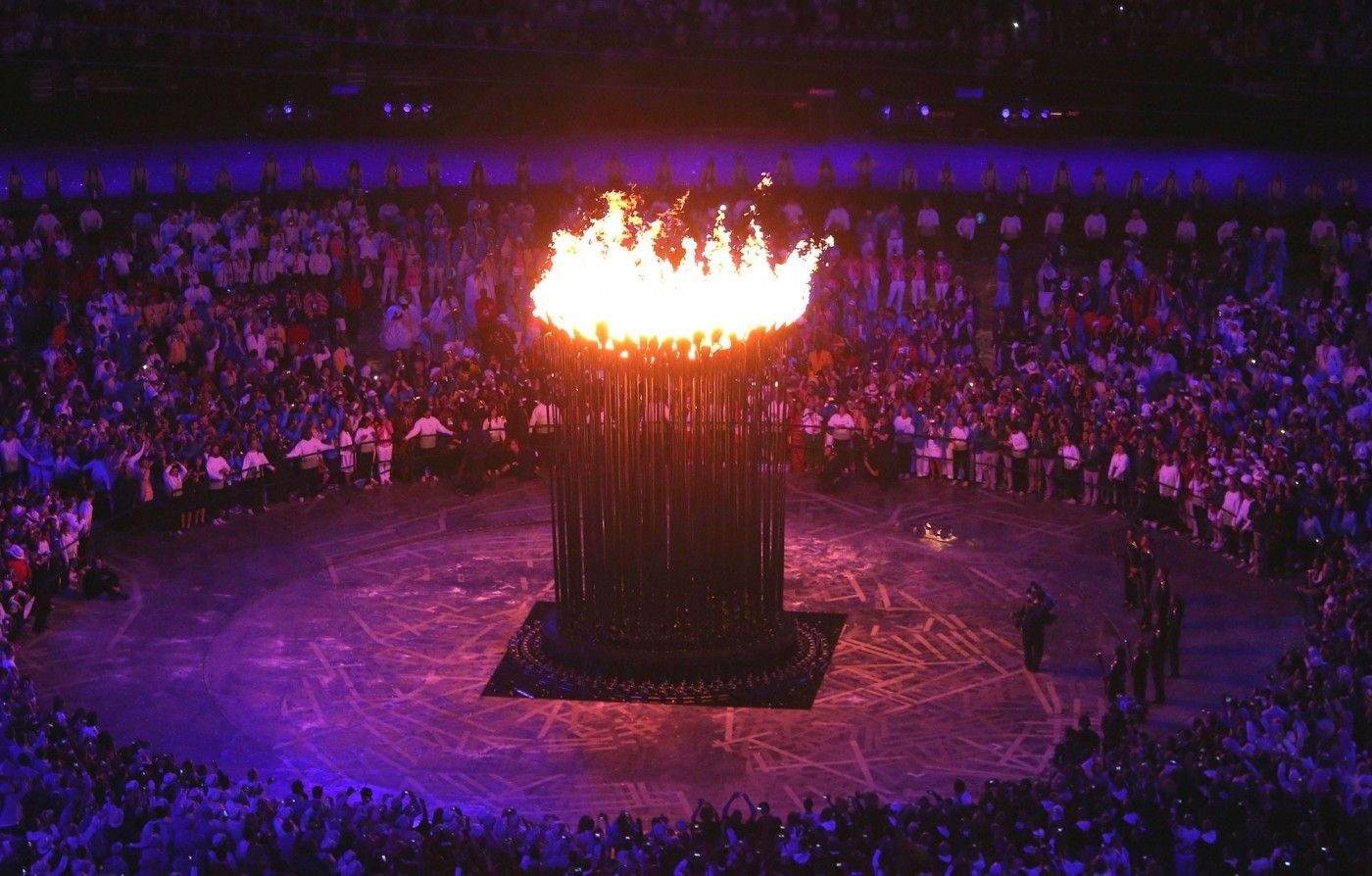 Olympic Cauldron | Heatherwick Studio : best olympic flame lighting - azcodes.com