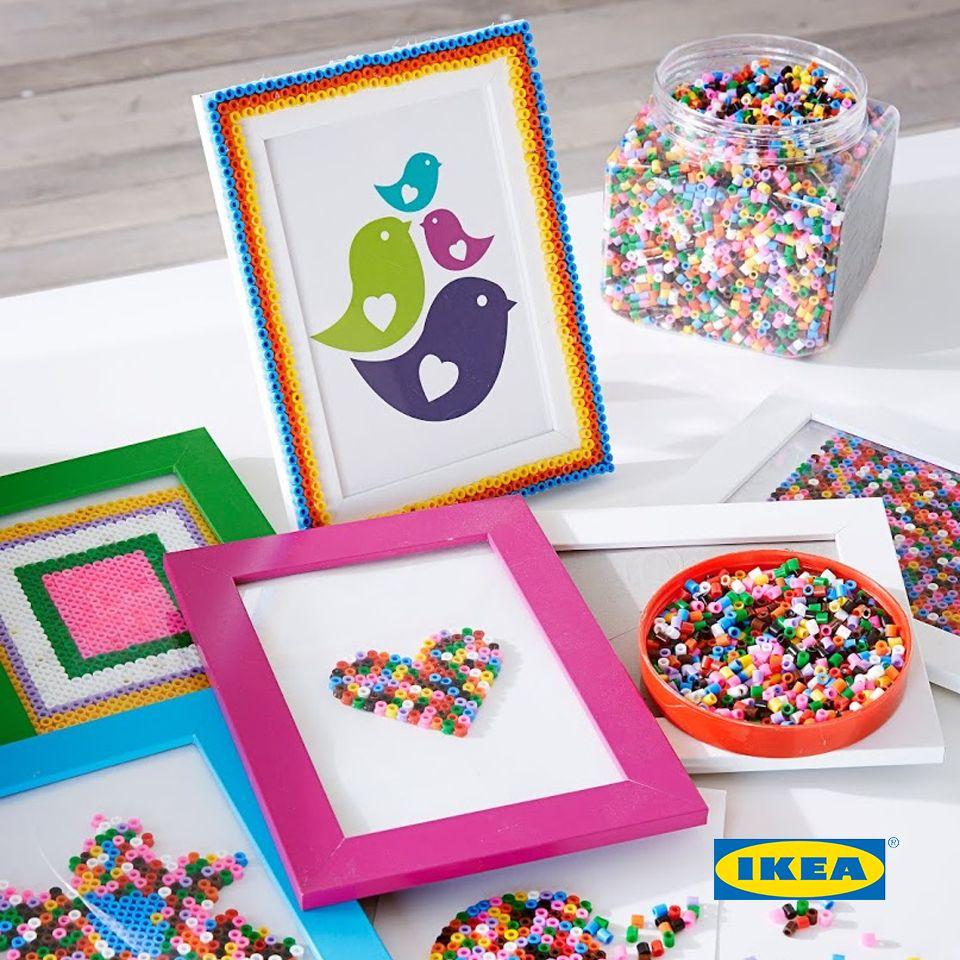 خرز Pyssla ايكيا Ikea Ikea Catalog Decor