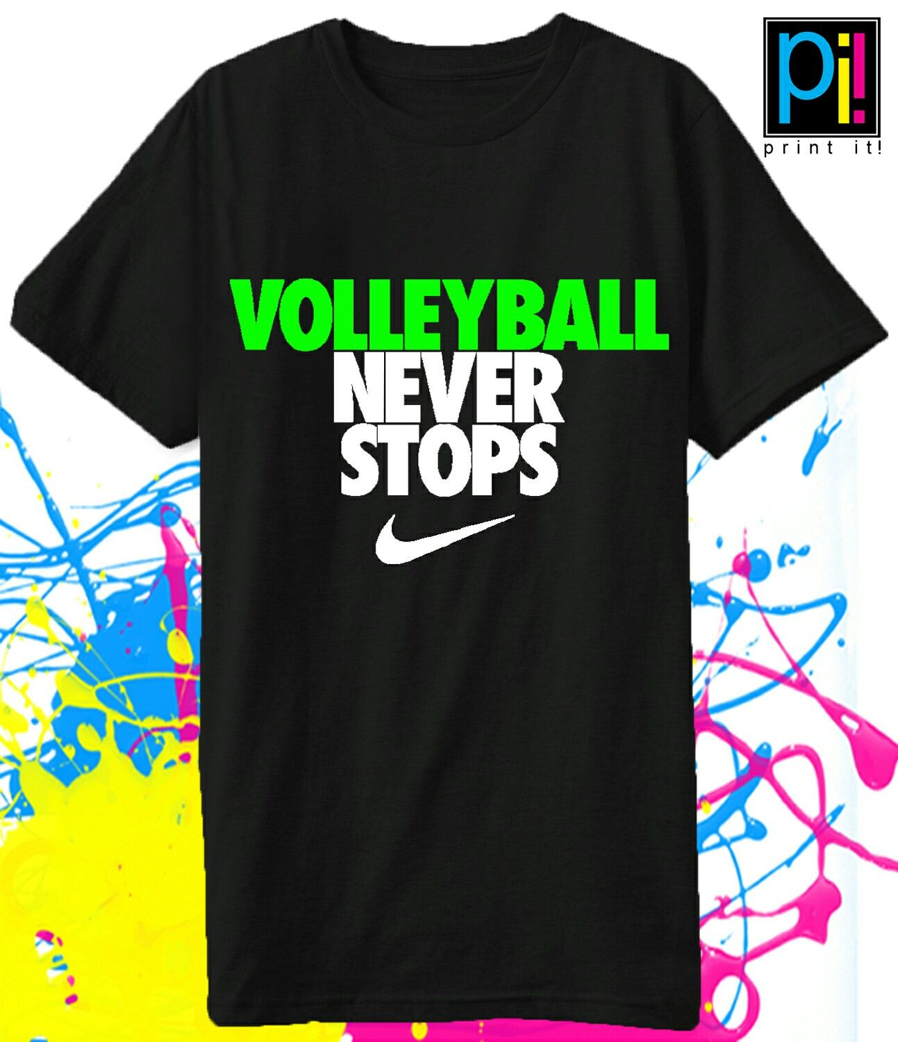 volleyball never stops print it pinterest volleyball