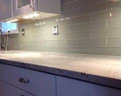 love this one cost bliss element mist 3x12 kitchen tile walk rh pinterest com