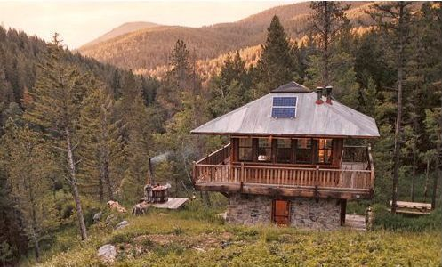Cabins Inspired By Railroad Depots And Fire Lookouts House Plans Tudor Style Homes Cabin House Plans