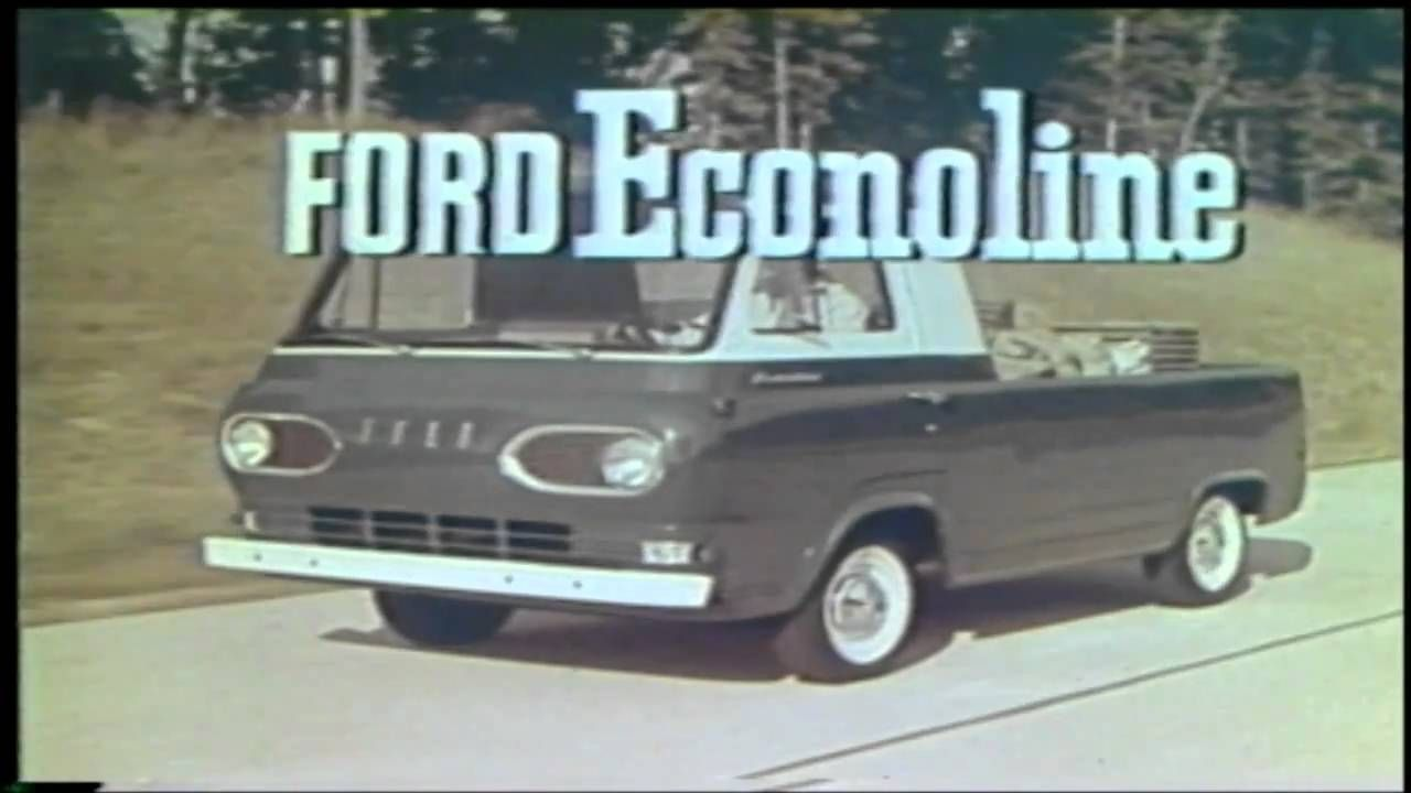 CLASSIC COMMERCIALS - FORD Collection 1950's - 1980's (1 of 4)