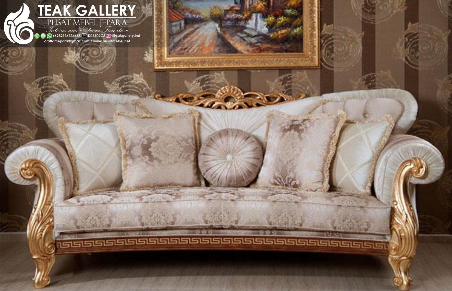 Sofa Tamu Royal Koltuk Mewah Modern 1 Set Sofa Tamu Furniture