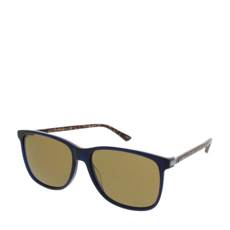 Gucci Gucci Sonnenbrille – Gg 0017S 005 57 – in braun, blau ...