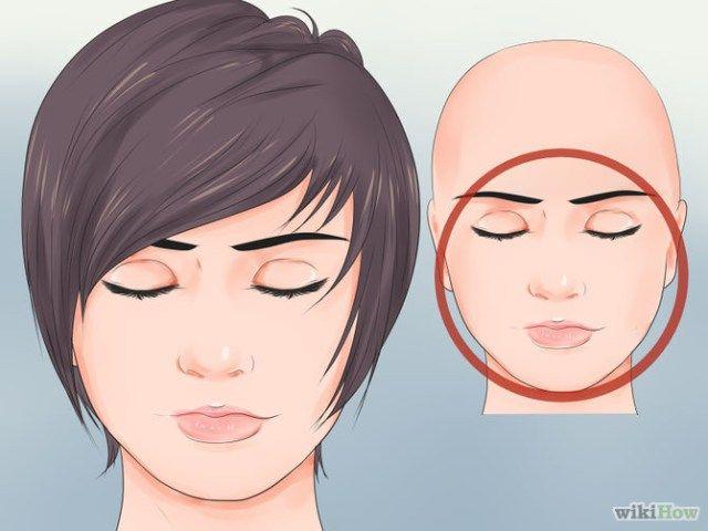 Pin en coupe de cheveux
