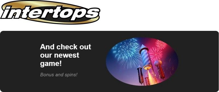 Intertops Classic casino weekly bonus: 100% New Year bonus
