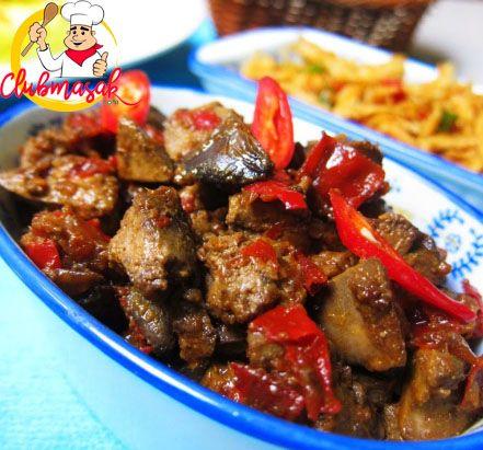 Resep Hidangan Lauk Hati Ayam Gurih Pedas Masakan Sehat Untuk Diet Club Masak Masakan Masakan Indonesia Makanan Sehat