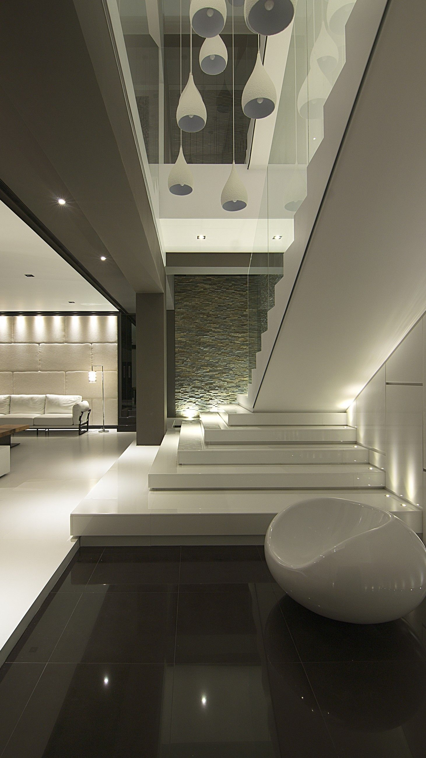 home interior design stairs%0A House    Family HousesTaiwanDesign ProjectsCourtyardsStairsSingle