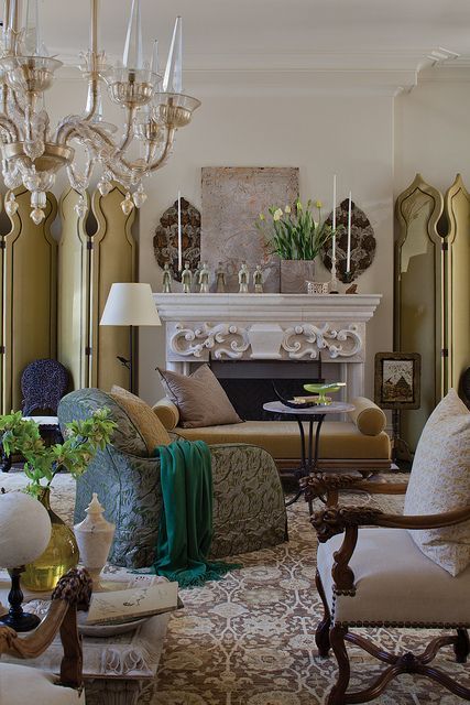 fortuny interiors decor living room chic pinterest interior rh pinterest com