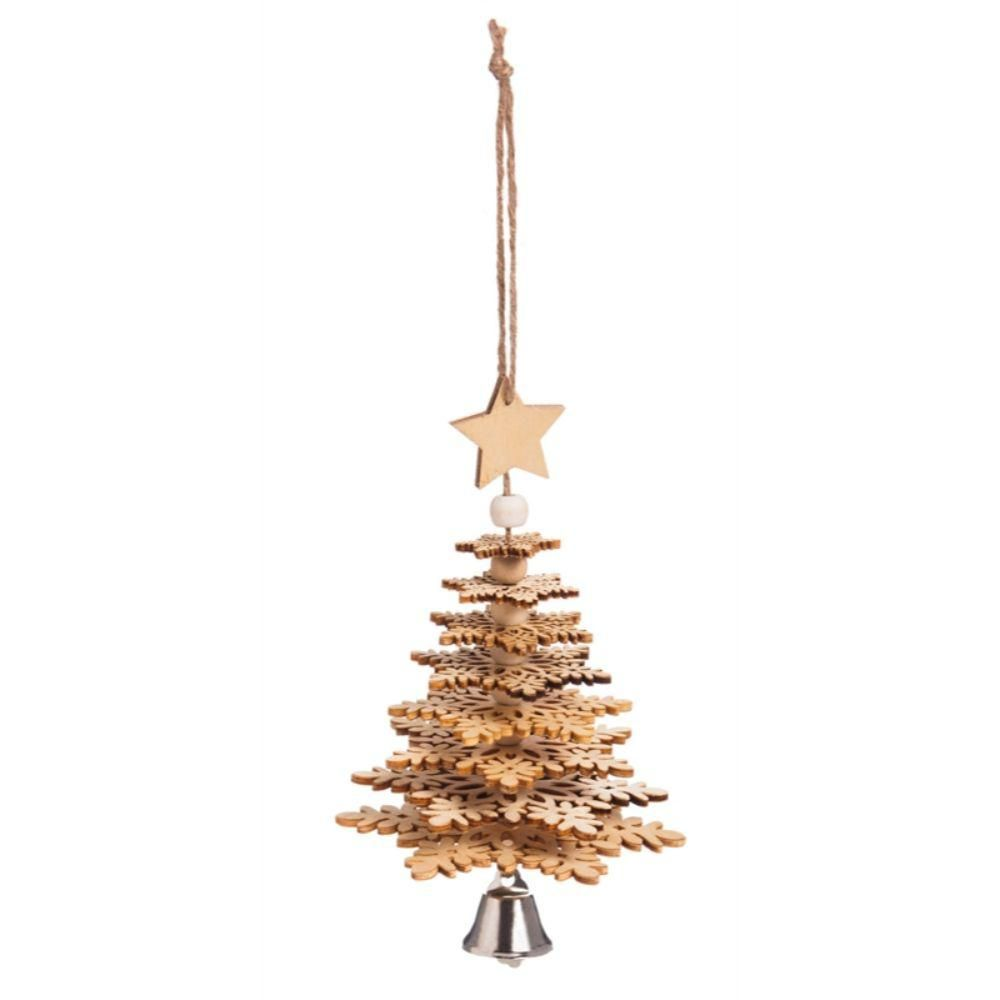 New Rustic Metal Copper SNOWFLAKE CHRISTMAS Tree ORNAMENT Western Country