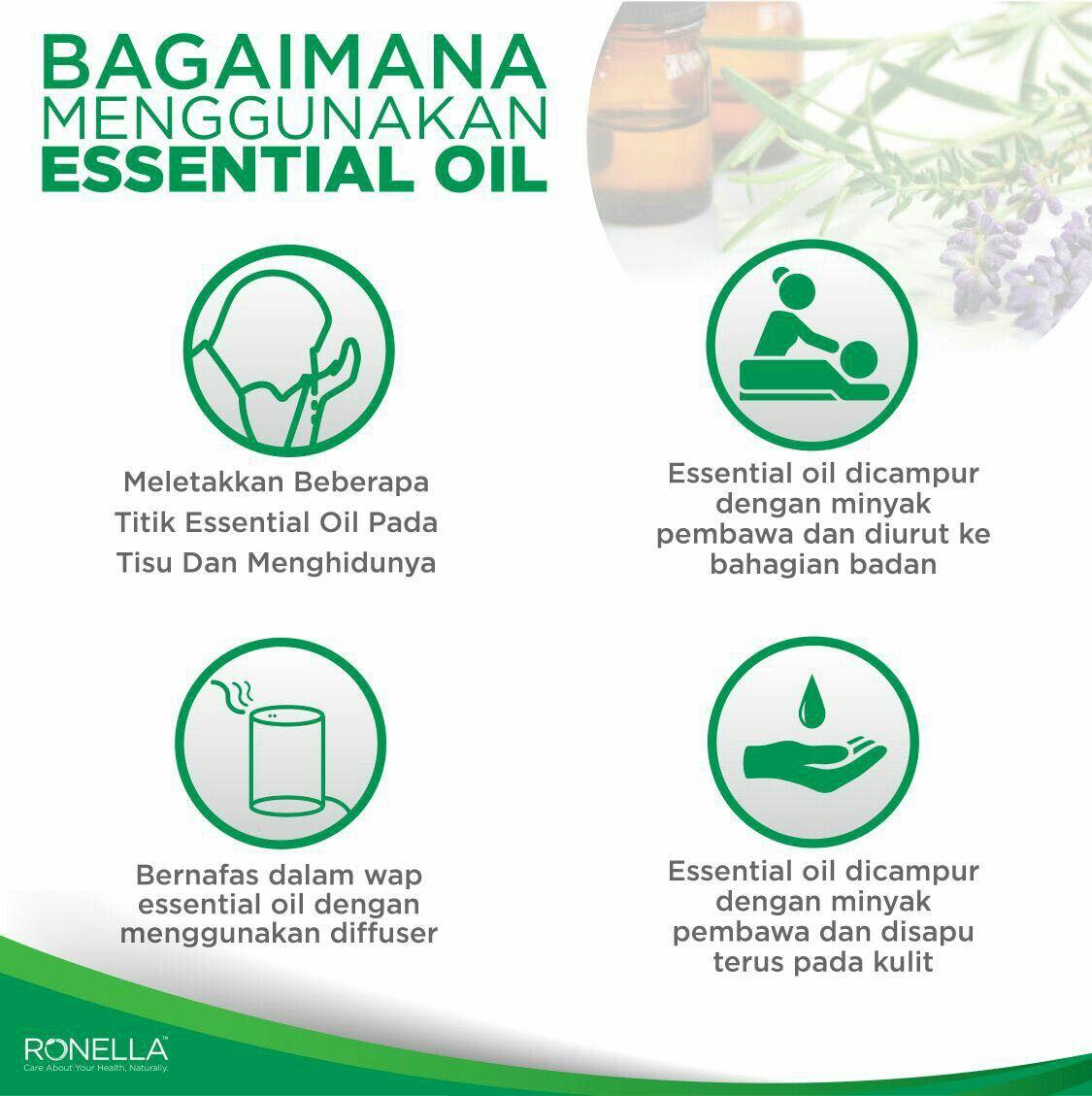 Cara Mudah Menggunakan Essential Oil Essential Oil Education Essential Oil Benefits Essential Oil Blends
