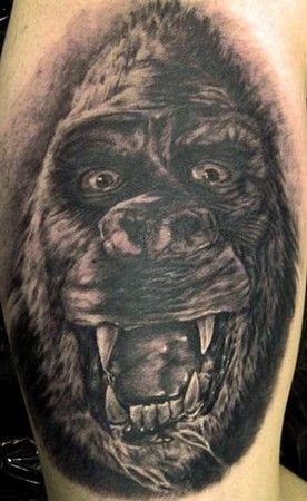 pepper king kong king kong tattoos pinterest king kong tattoo studio and tattoo. Black Bedroom Furniture Sets. Home Design Ideas