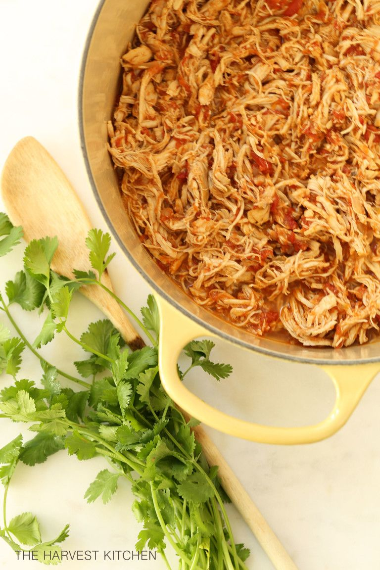 Mexican Style Shredded Chicken
